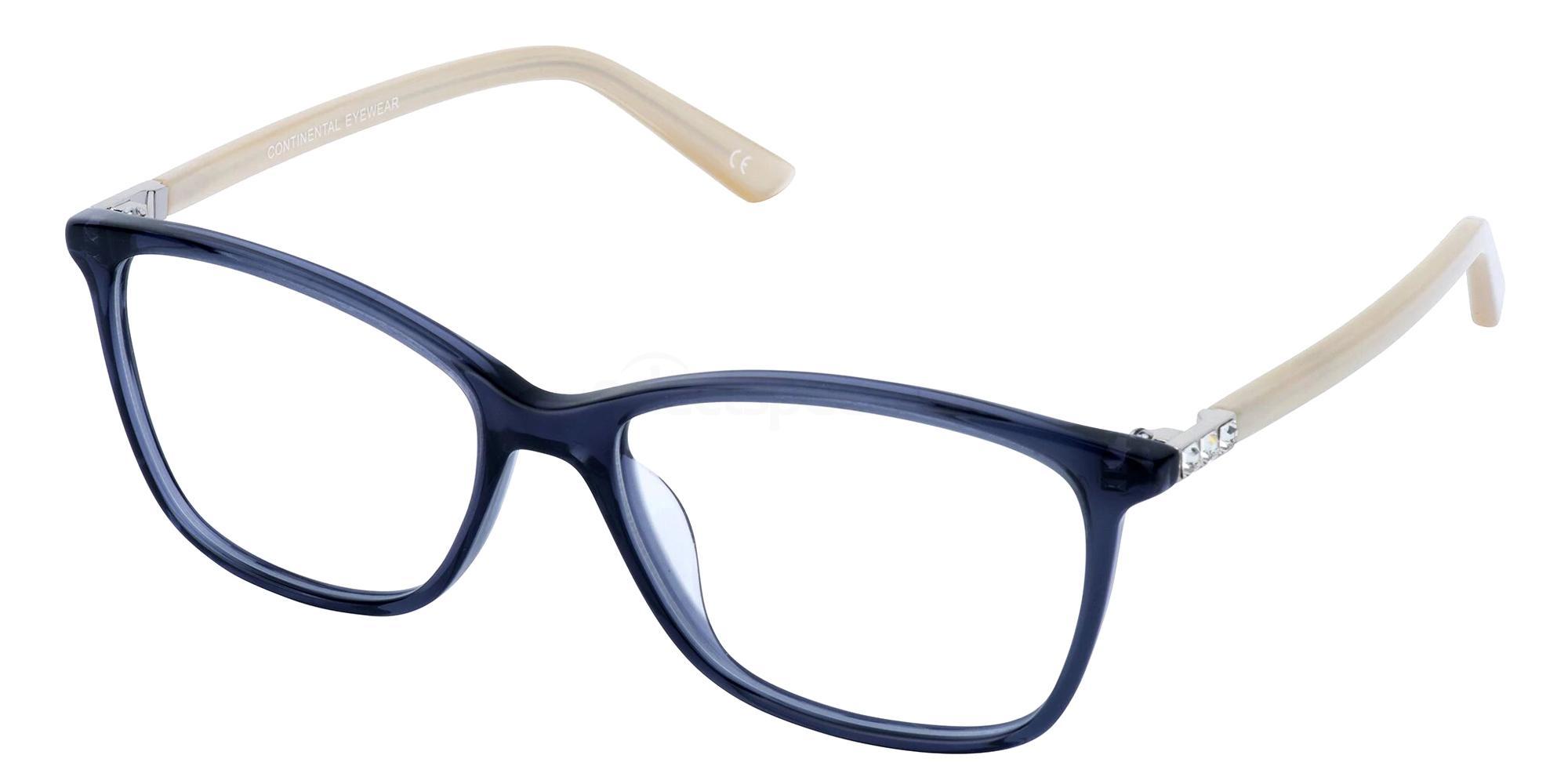 Blue 1278 Glasses, Jacques Lamont