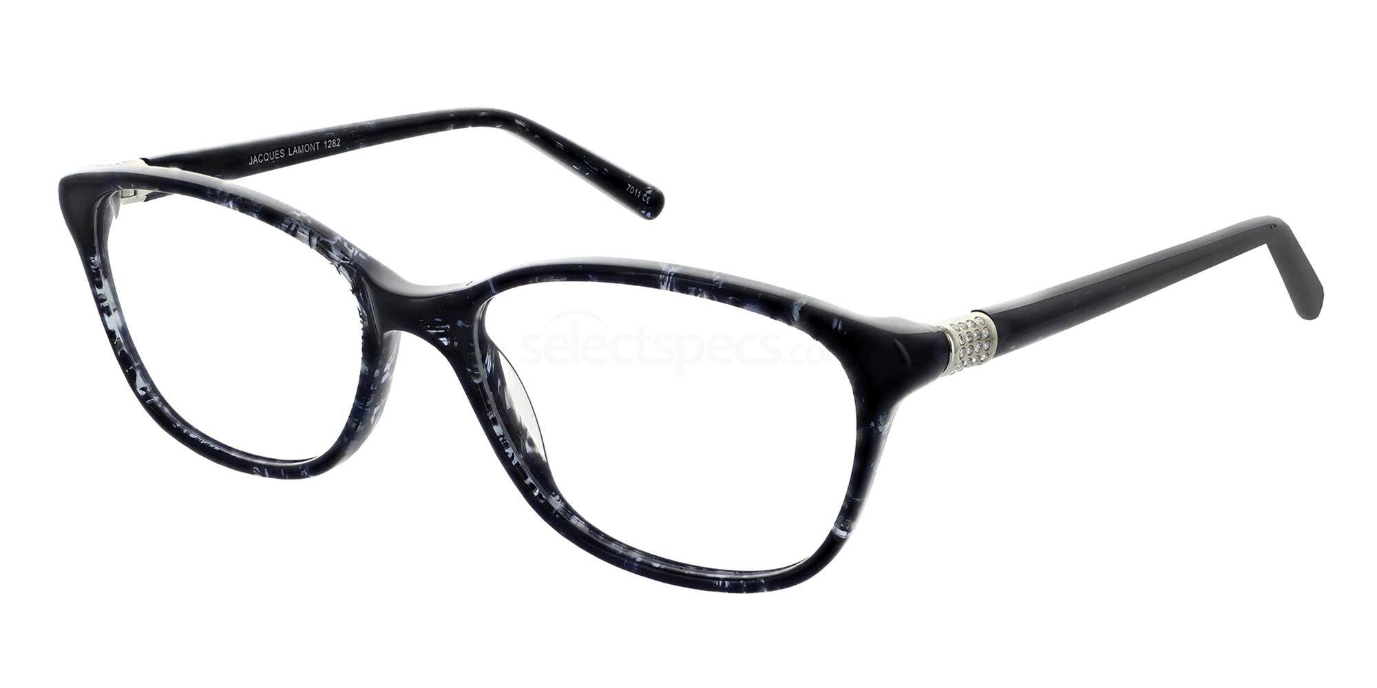 Black 1282 Glasses, Jacques Lamont