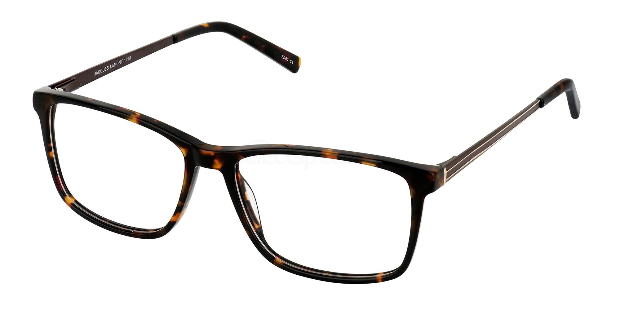 Brown 1296 Glasses, Jacques Lamont