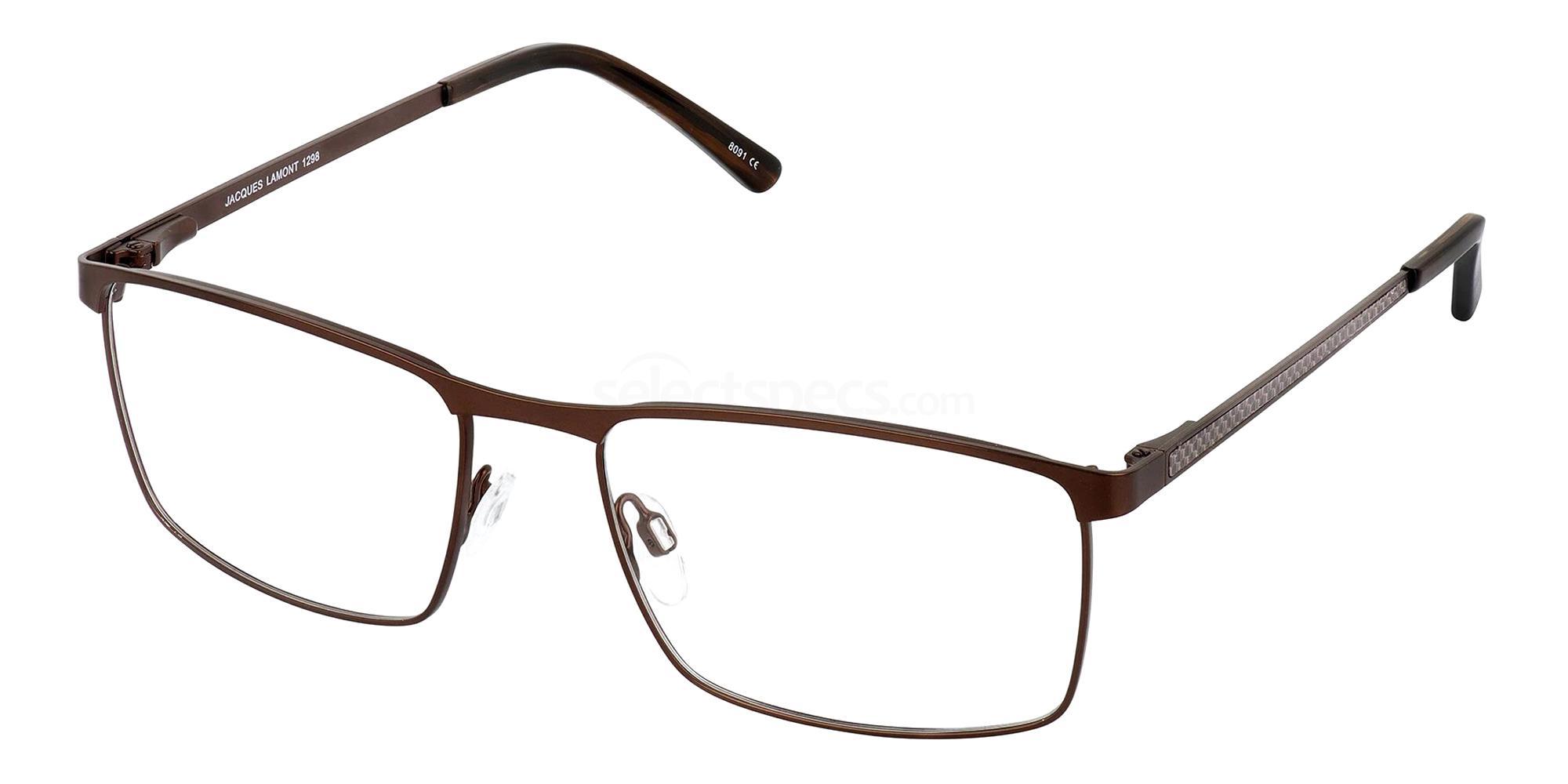 Brown 1298 Glasses, Jacques Lamont