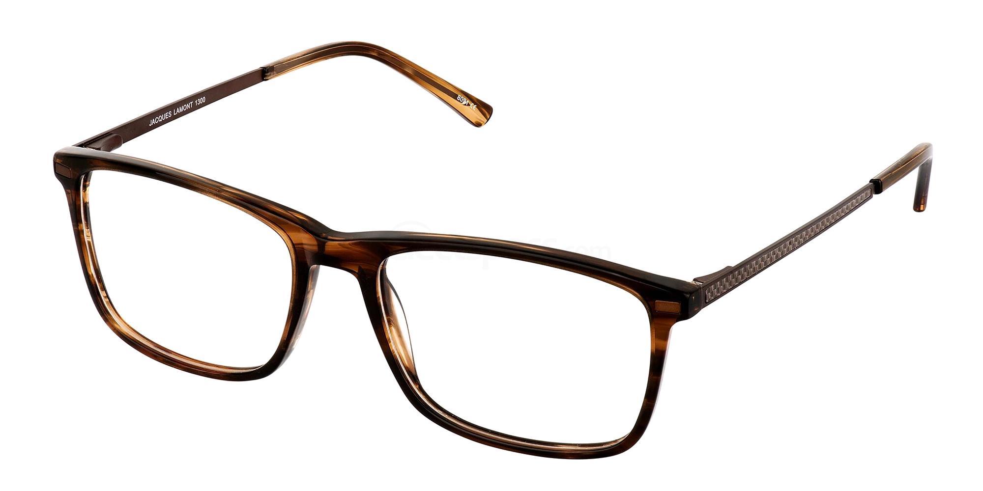 Brown 1300 Glasses, Jacques Lamont