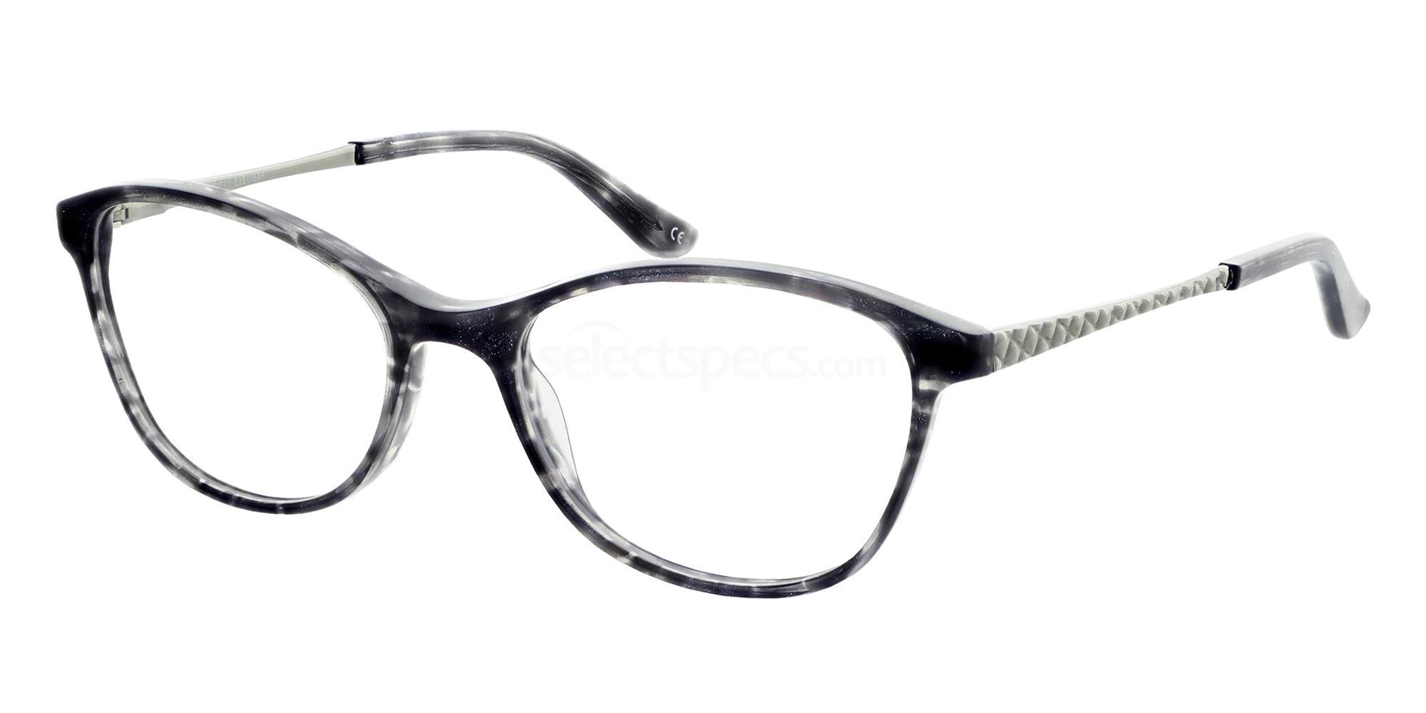 Black 1304 Glasses, Jacques Lamont