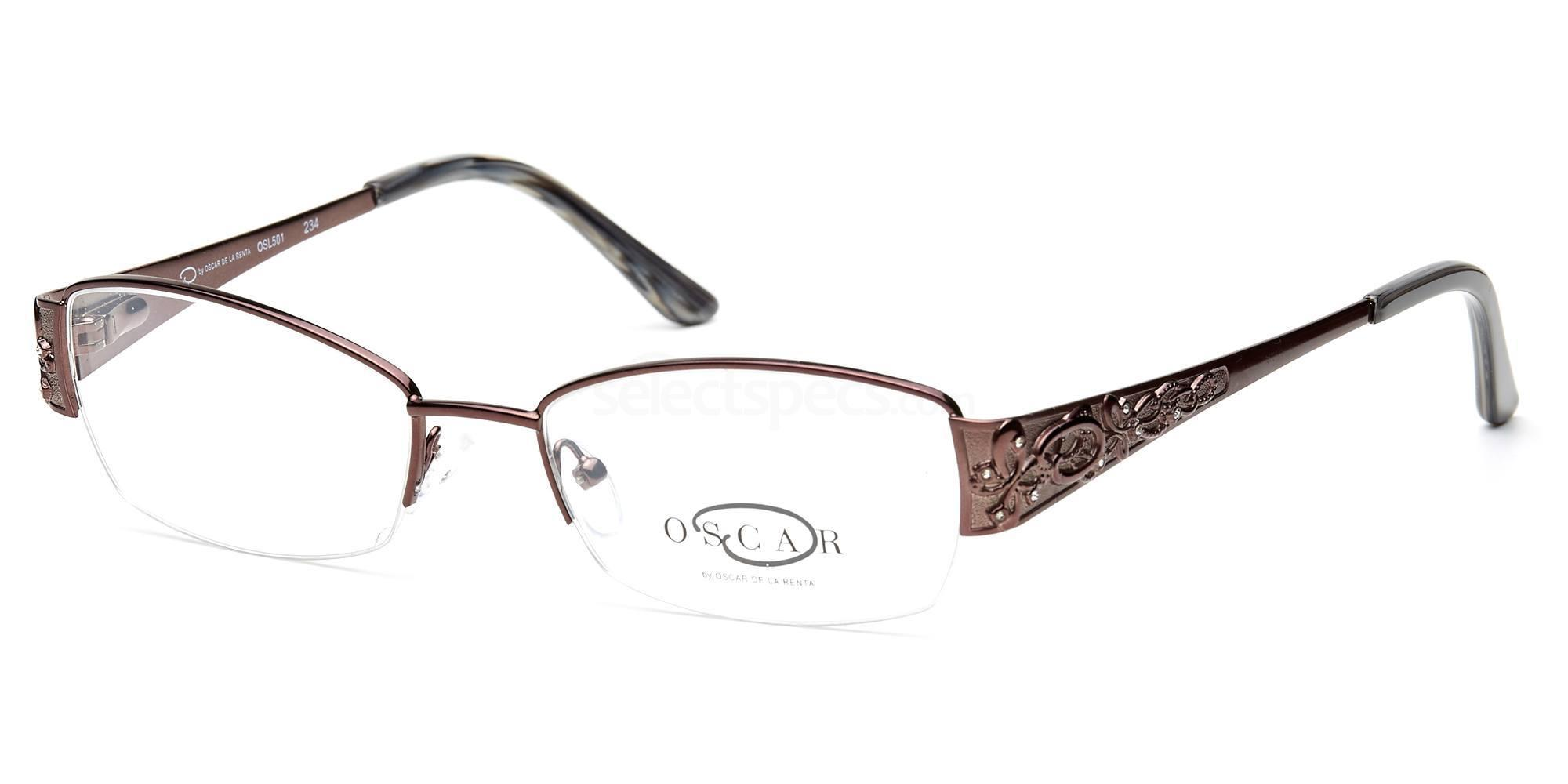C1 OSL501 Glasses, Oscar De La Renta