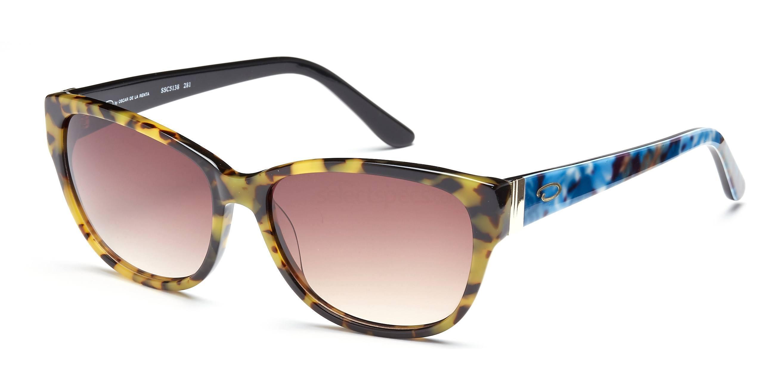 C1 SSC5138 Sunglasses, Oscar De La Renta