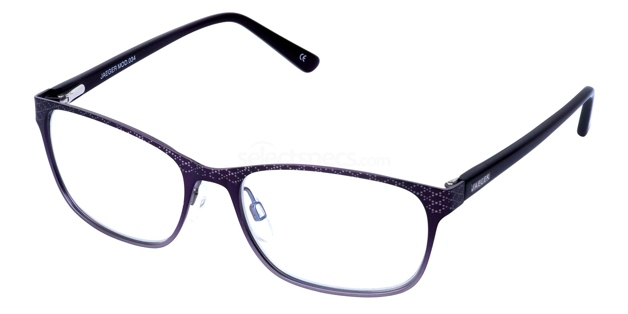 Purple 34 Glasses, Jaeger London