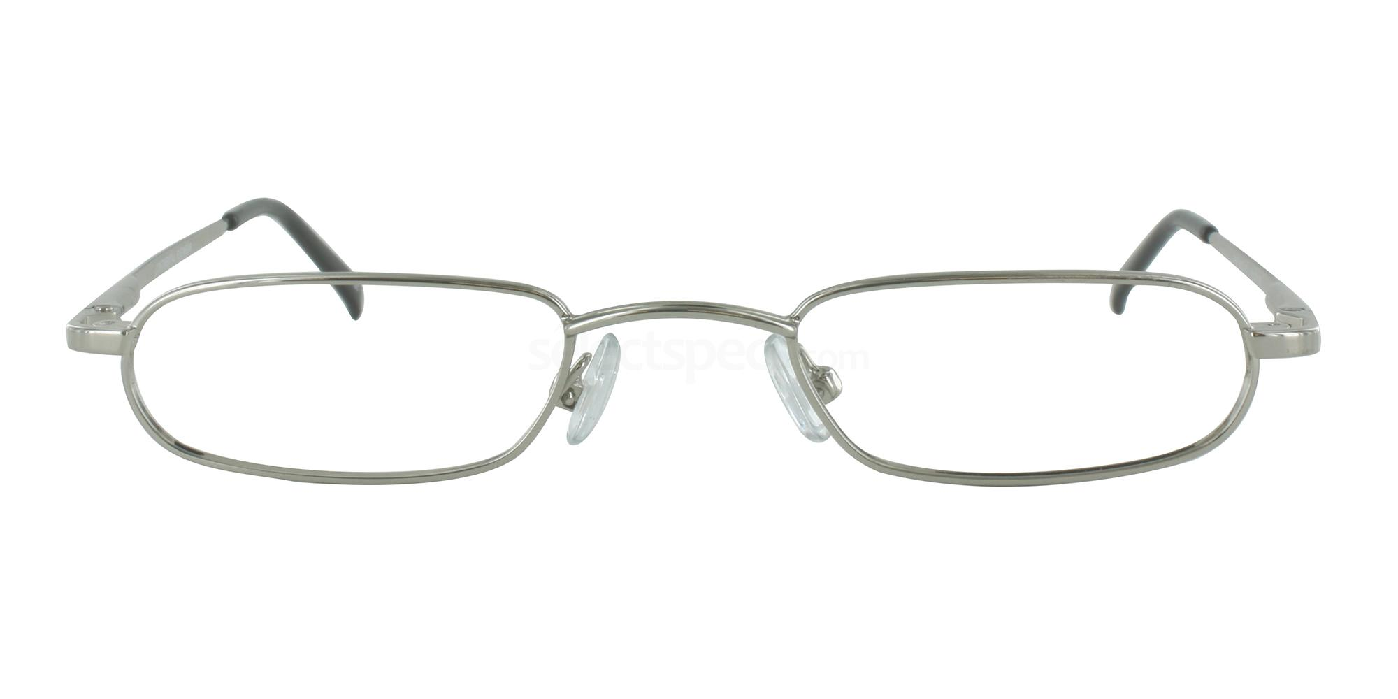 Silver HALF EYE 101 Glasses, Cameo
