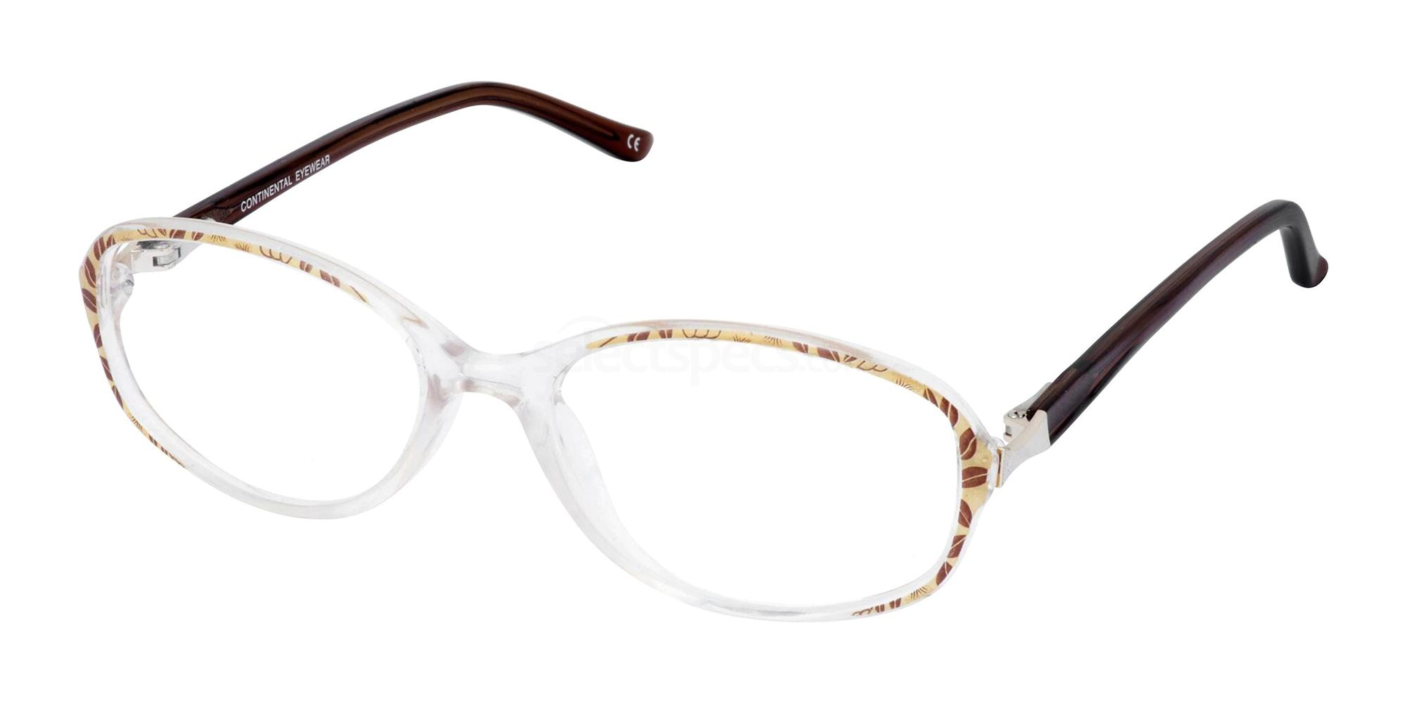 Brown HEIDI Glasses, Cameo