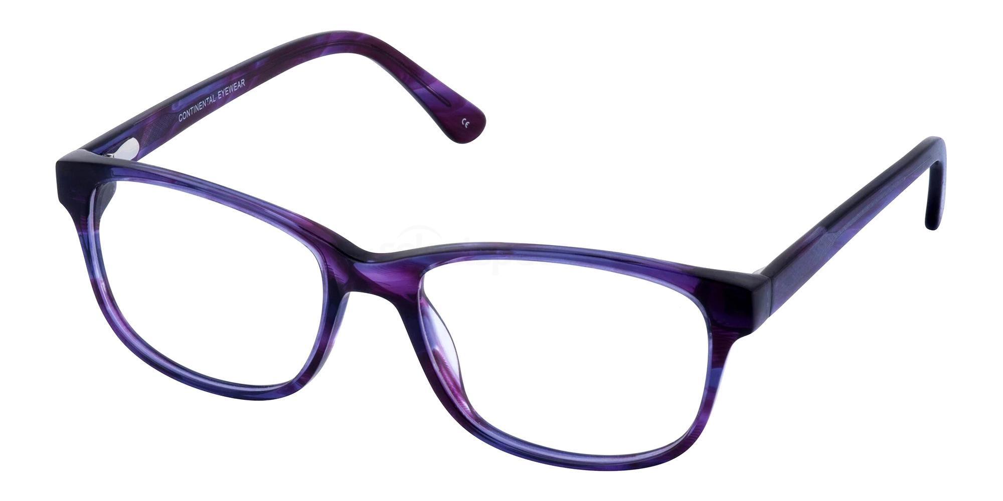 Purple JENNA Glasses, Cameo