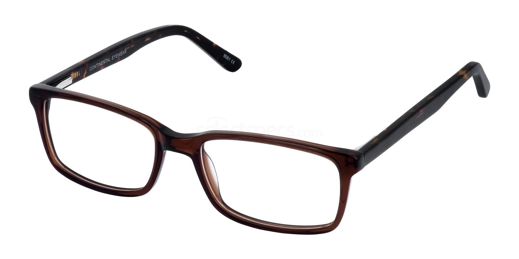 Brown JIM Glasses, Cameo