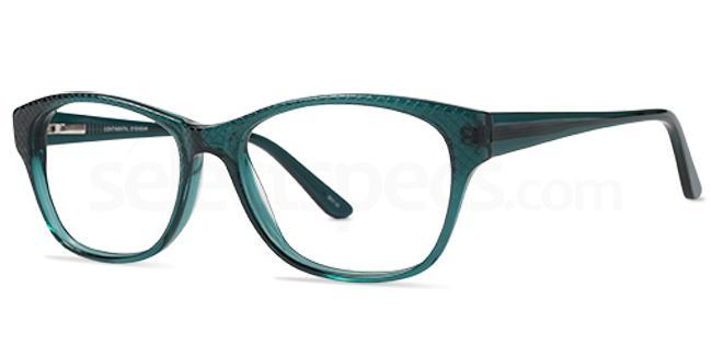 Teal JUDIE Glasses, Cameo