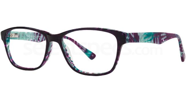 Purple MILLIE Glasses, Cameo