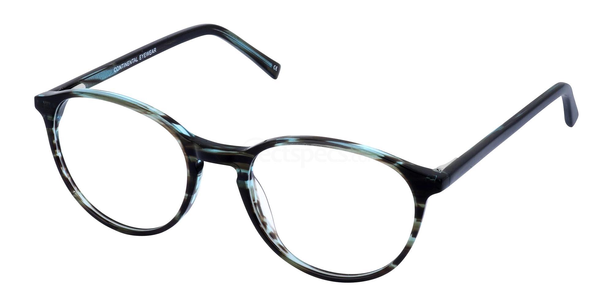 Brown/Blue ALI Glasses, Cameo