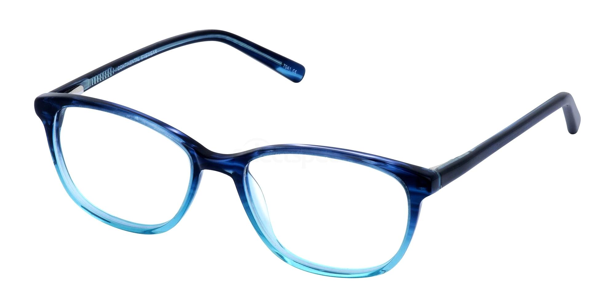 Blue LUCINDA Glasses, Cameo