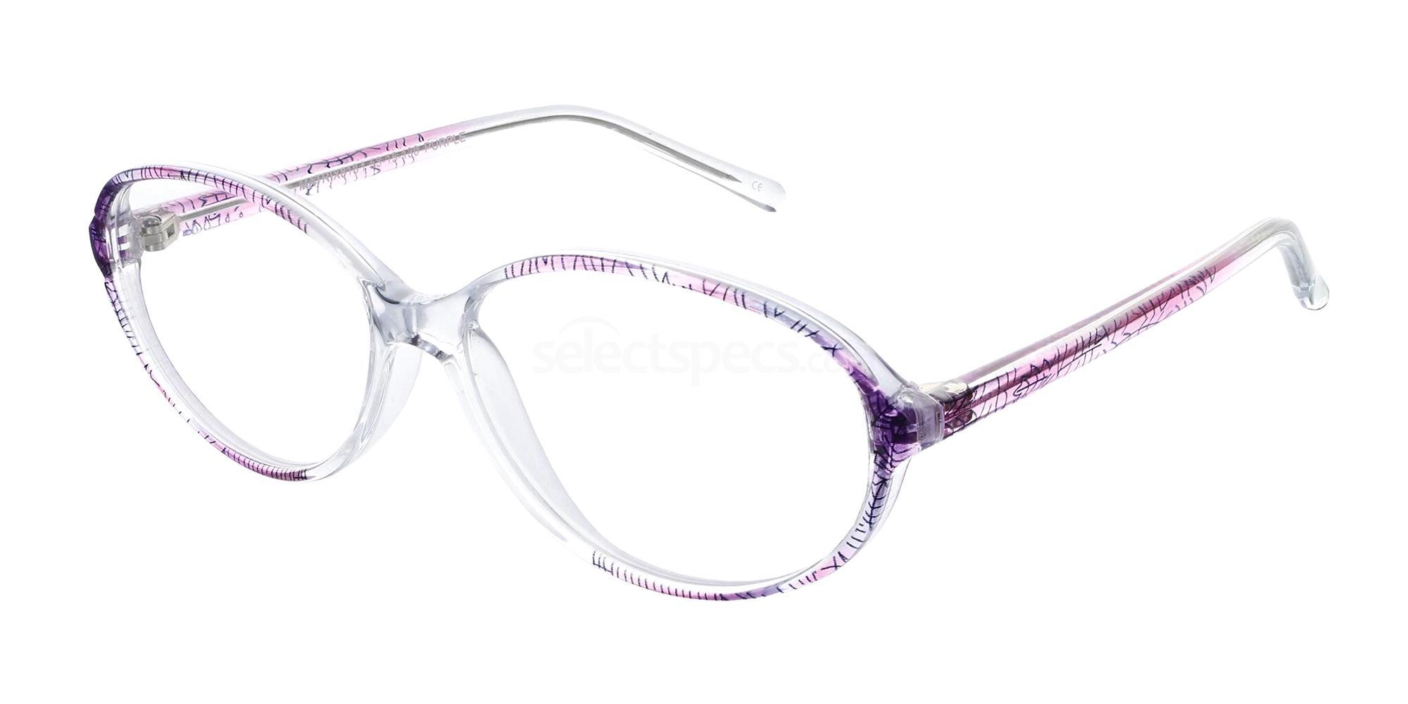 Purple 818 Glasses, Matrix