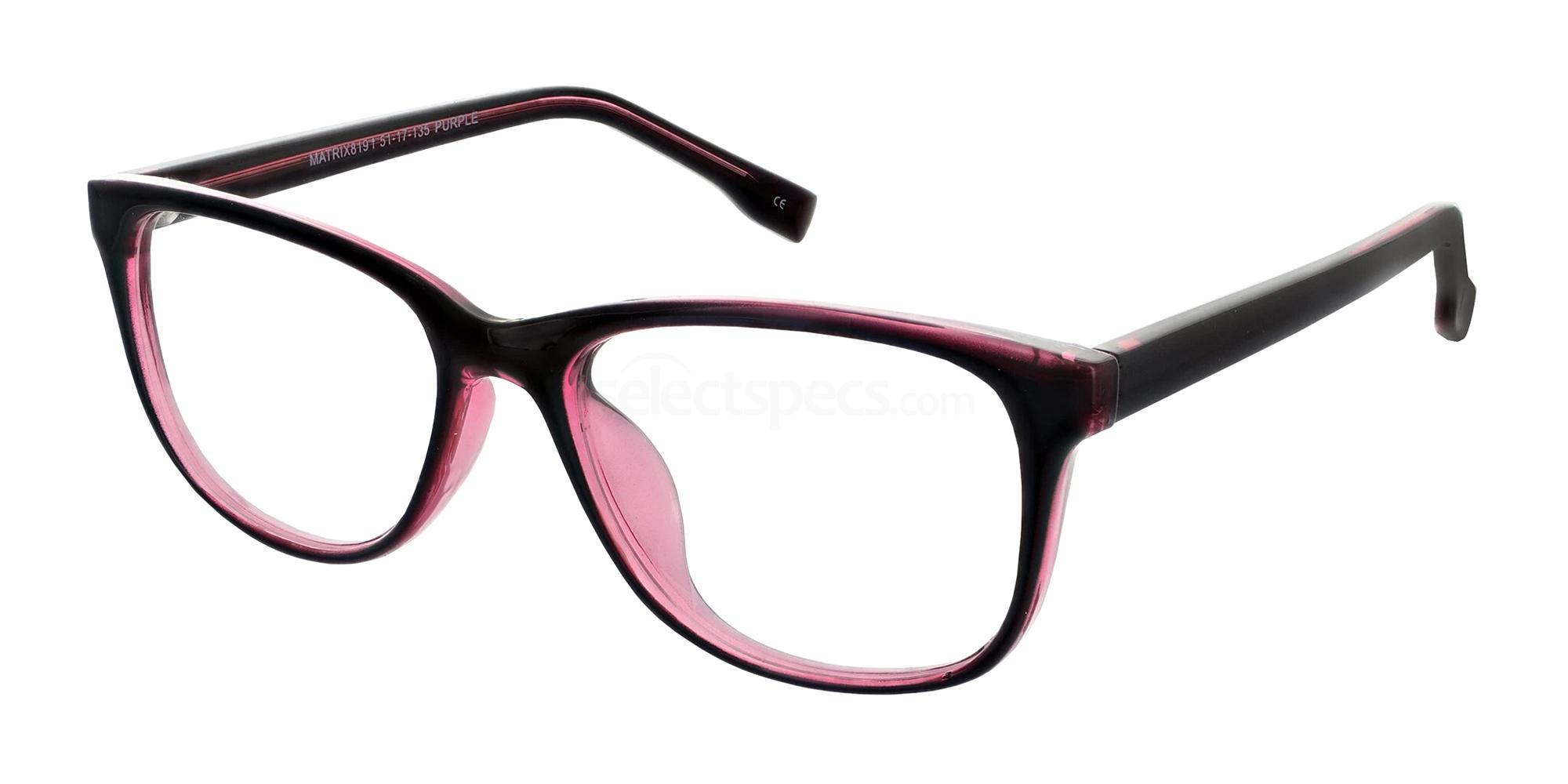 Purple 819 Glasses, Matrix