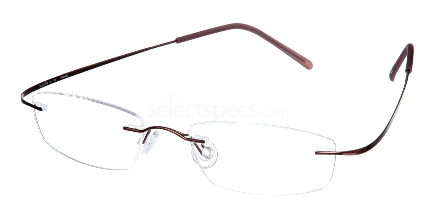 Mocha SL01 Glasses, Superlite Eyewear