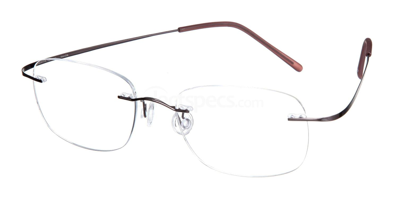 Silk Gunmetal SL02 Glasses, Superlite Eyewear