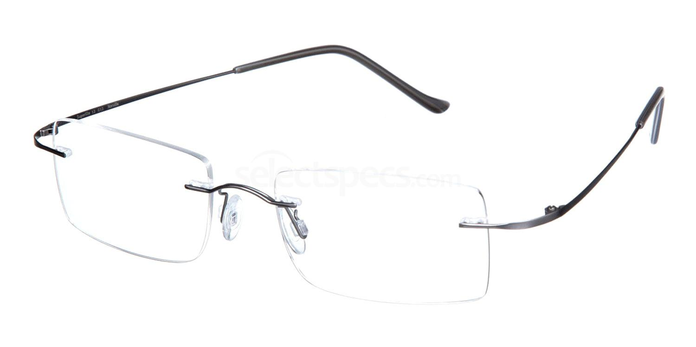 Matt Aluminium SL13 Glasses, Superlite Eyewear