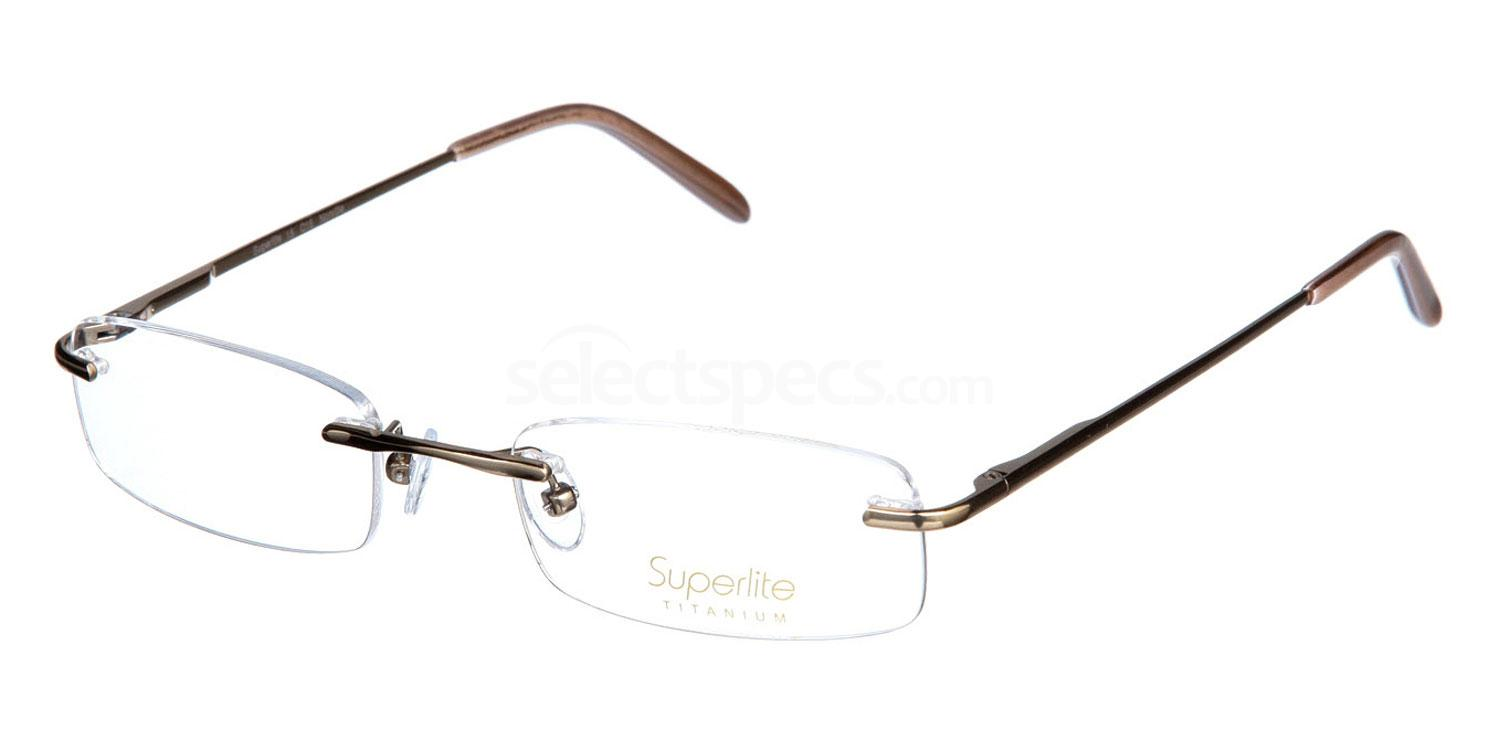 Soft Gold SL15 Glasses, Superlite Eyewear
