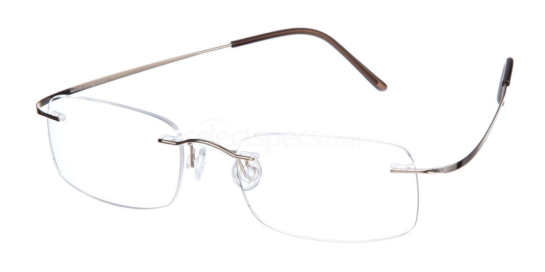 Shiny Gold SL20 Glasses, Superlite Eyewear
