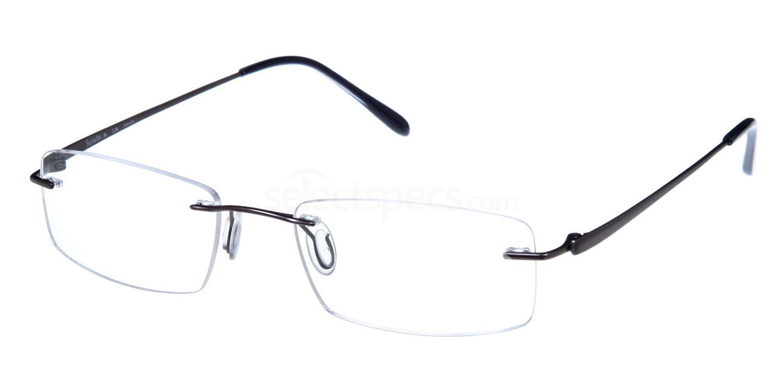 Matt Gunmetal SL36 Glasses, Superlite Eyewear