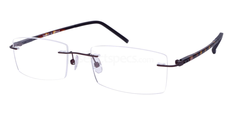 Brown/Tort SL61 Glasses, Superlite Eyewear