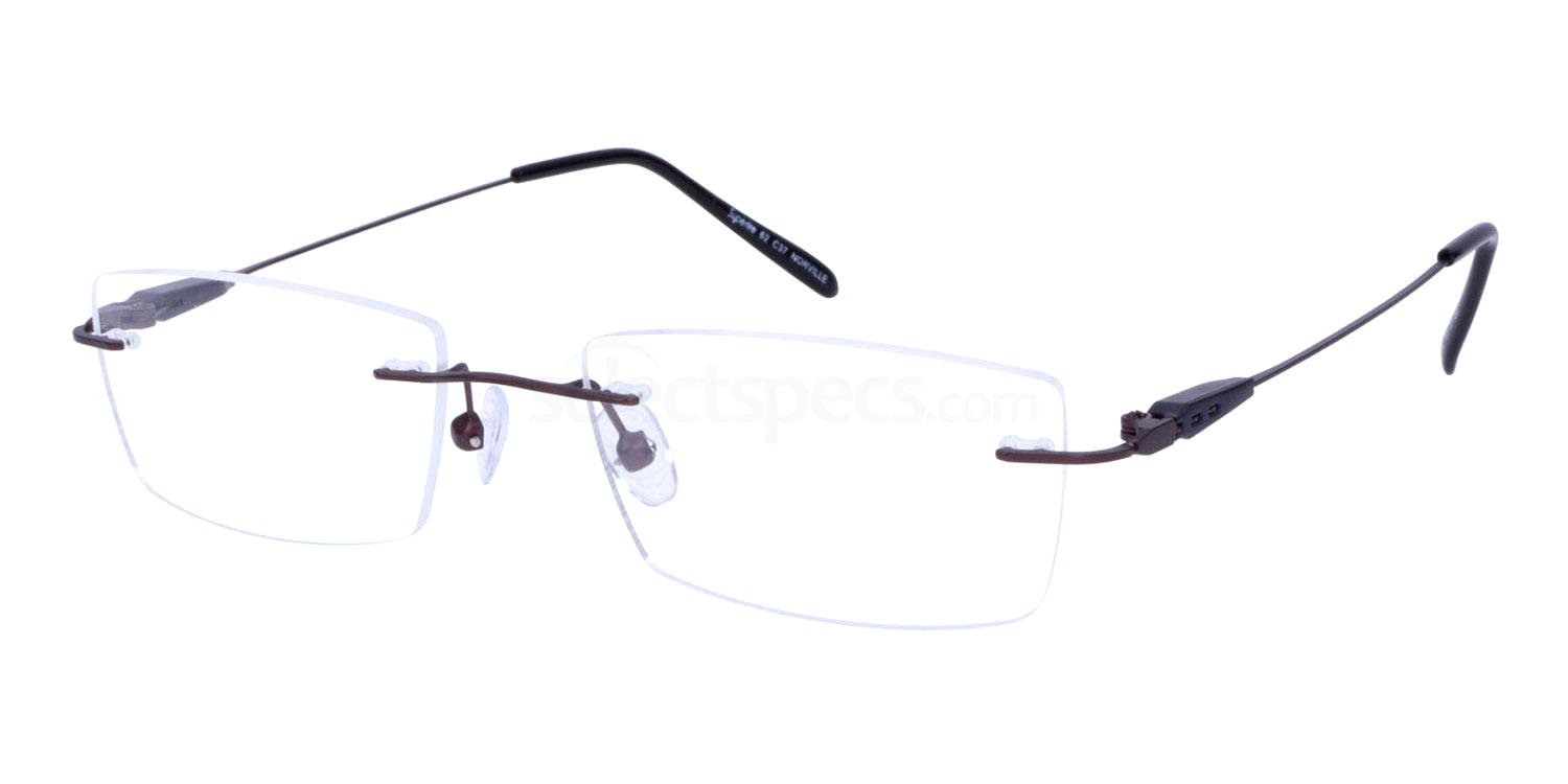 Bronze SL62 Glasses, Superlite Eyewear