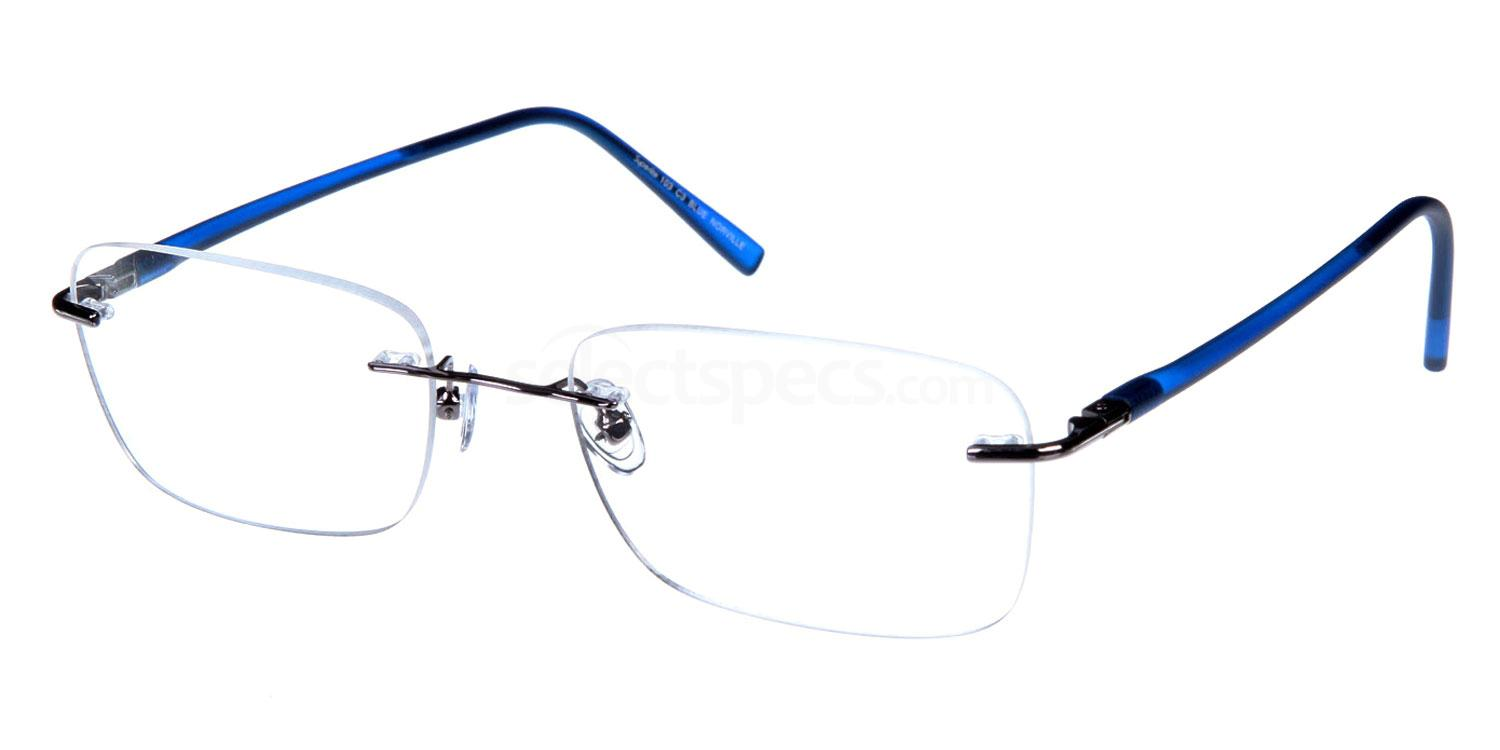 Blue SL103 Glasses, Superlite Eyewear
