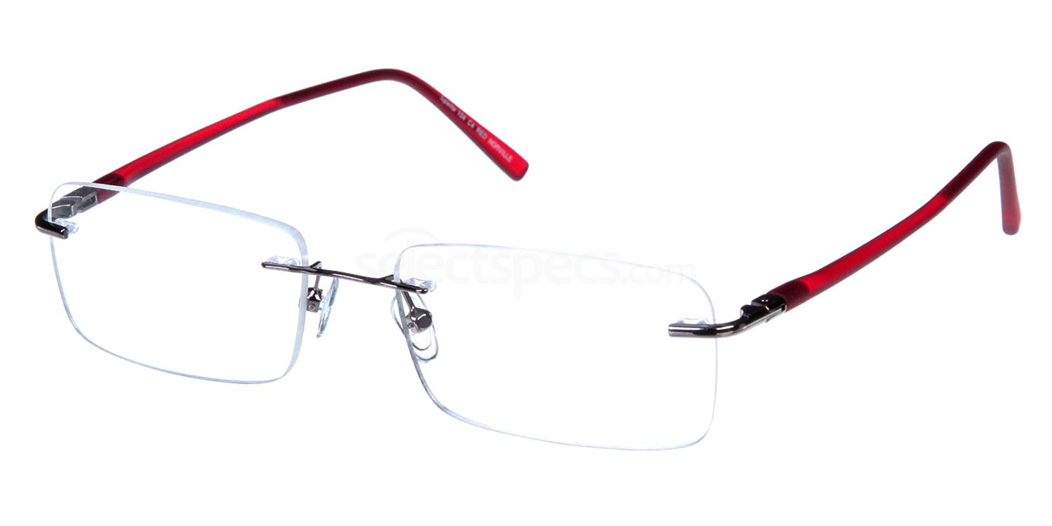 Red SL104 Glasses, Superlite Eyewear