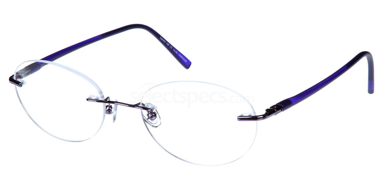 Lilac SL105 Glasses, Superlite Eyewear