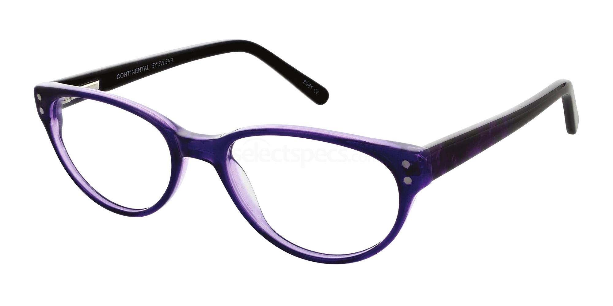Purple 80 Glasses, Zenith Zest