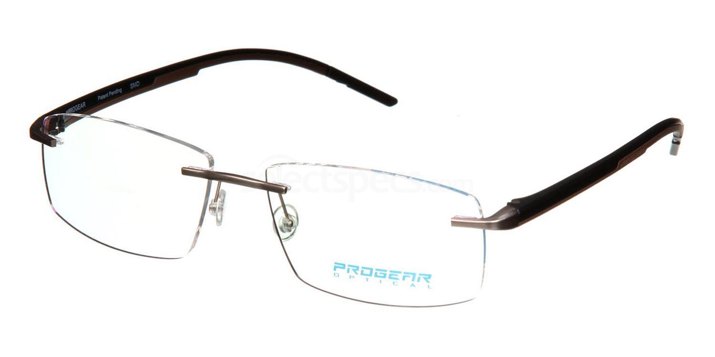 Light Gold / Black / Brown OPT-1101 Glasses, ProGear Optical