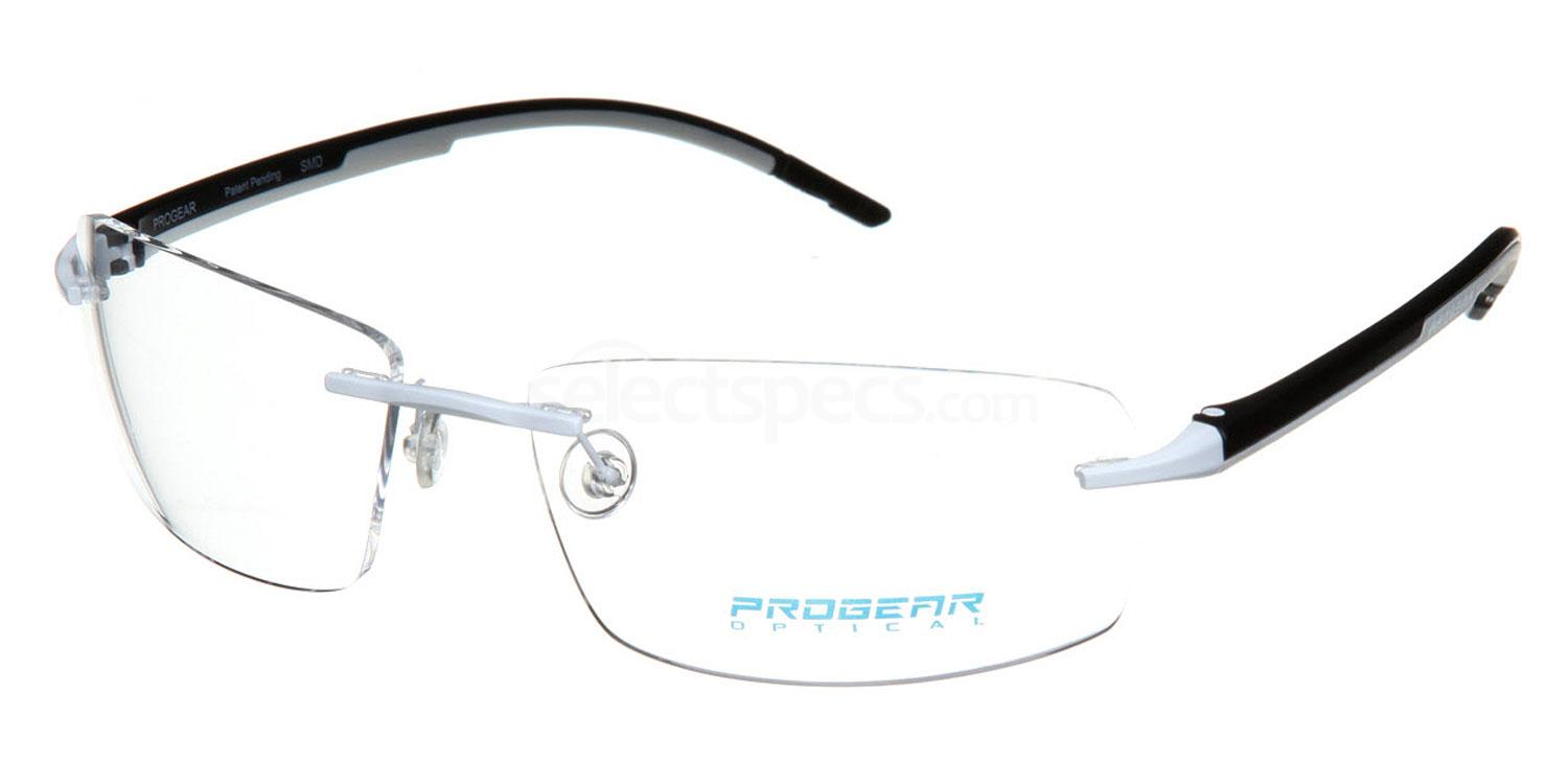 White /Black OPT-1103 Glasses, ProGear Optical