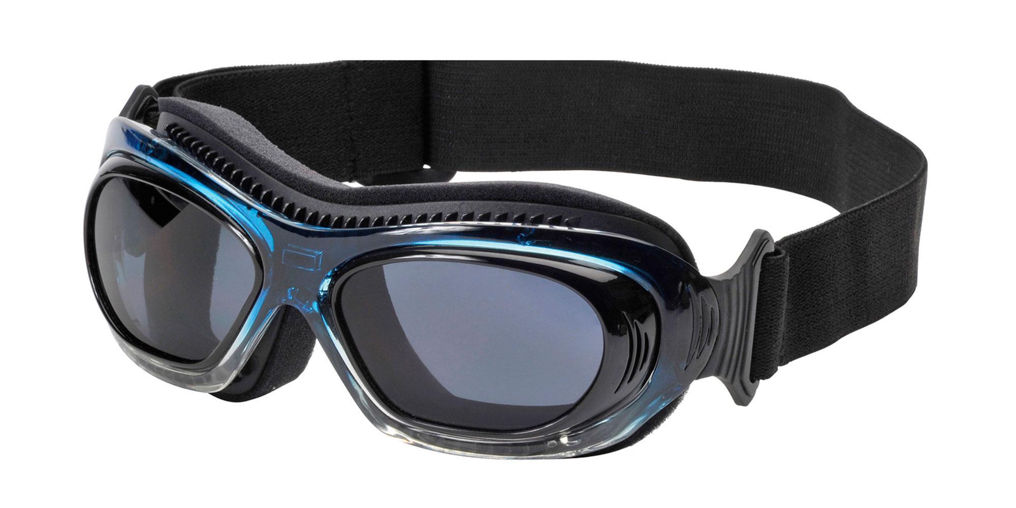 Blue Bling Boarding Goggle Goggles, Sports Eyewear