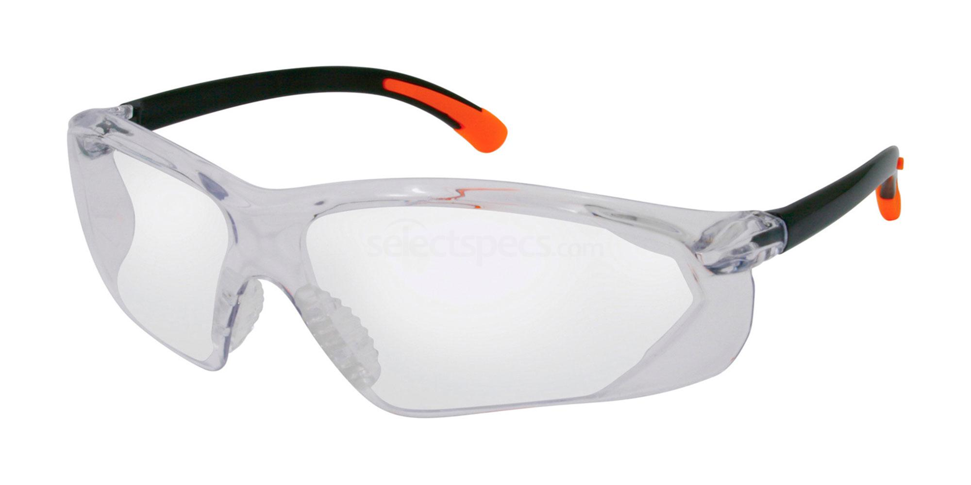 Black/Orange S737 (Plano Protector) Accessories, Sports Eyewear