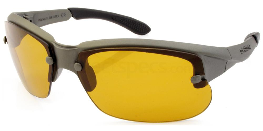 Gun Metal Swing Sunglasses, Sports Eyewear