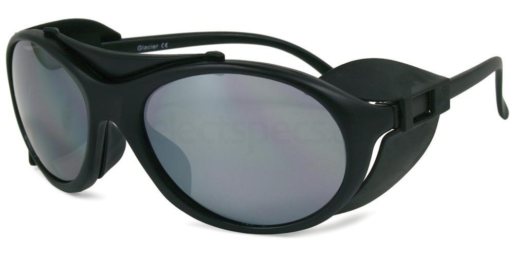 Black Glacier Sunglasses, Sports Eyewear