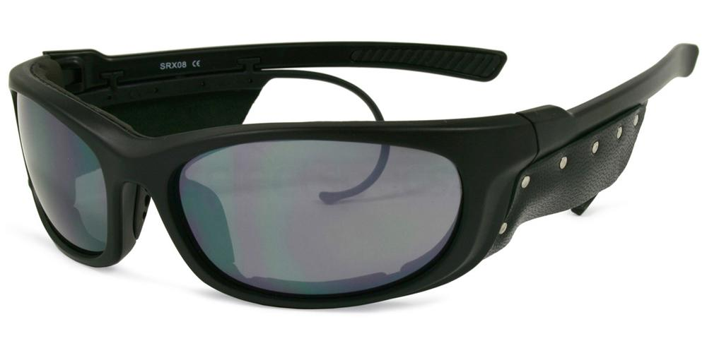 Black SRX08 Sunglasses, Sports Eyewear