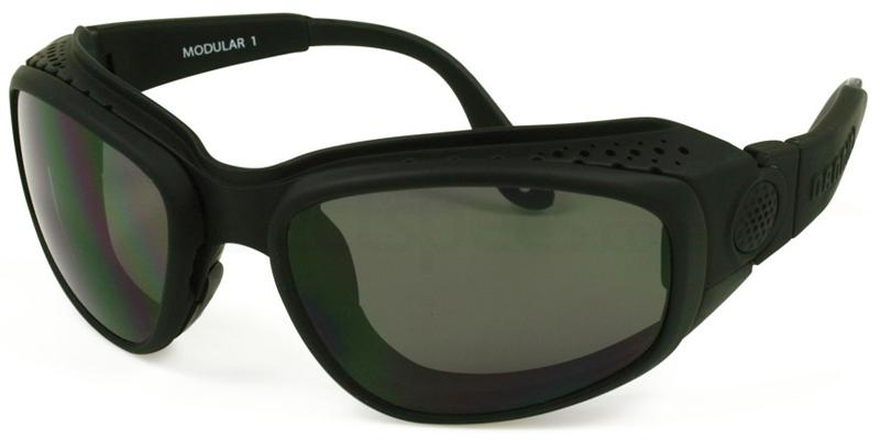 Black Voyager Sunglasses, Sports Eyewear