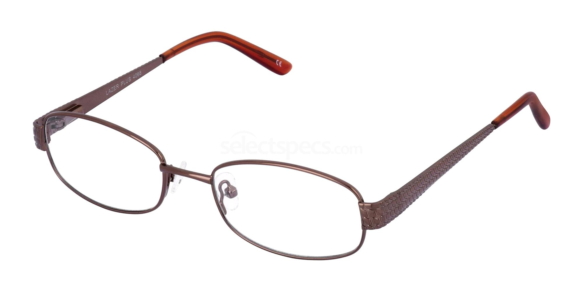 Brown 4068 Glasses, LAZER