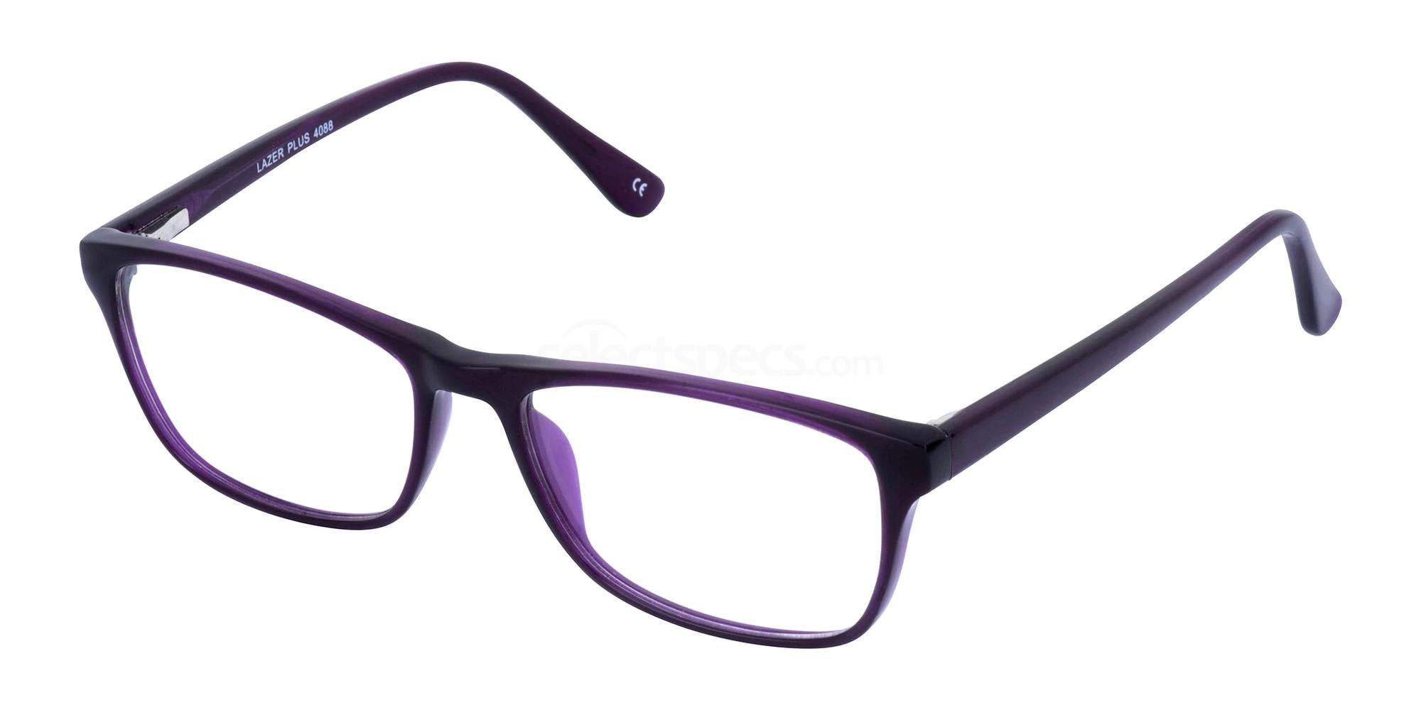 Purple 4088 Glasses, LAZER