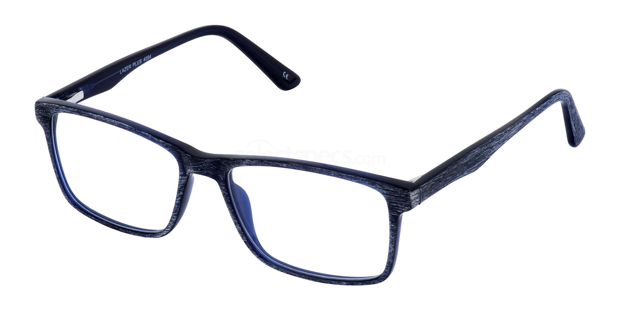 Navy 4094 Glasses, LAZER