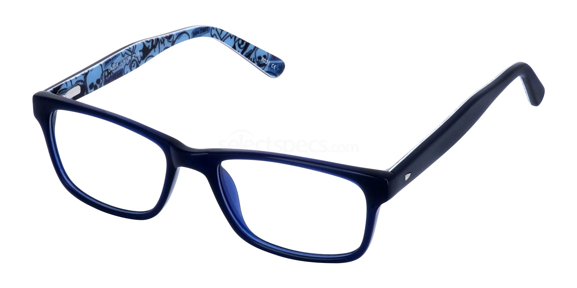 Navy 2158 Glasses, LAZER Junior