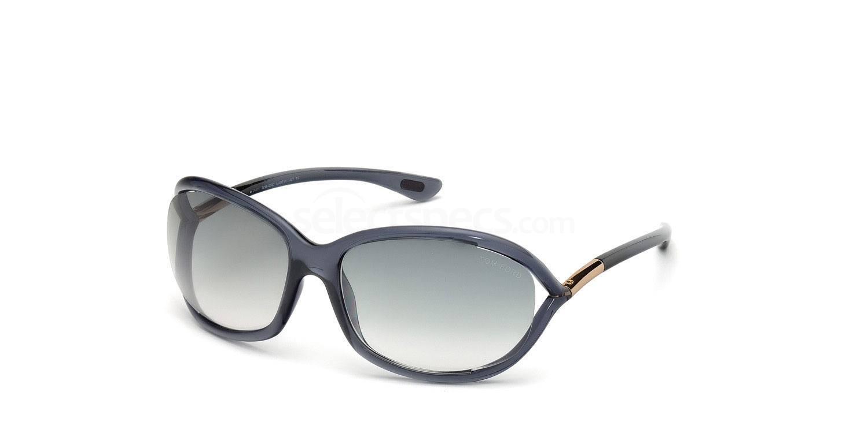 0B5 FT0008 Jennifer (1/2) Sunglasses, Tom Ford
