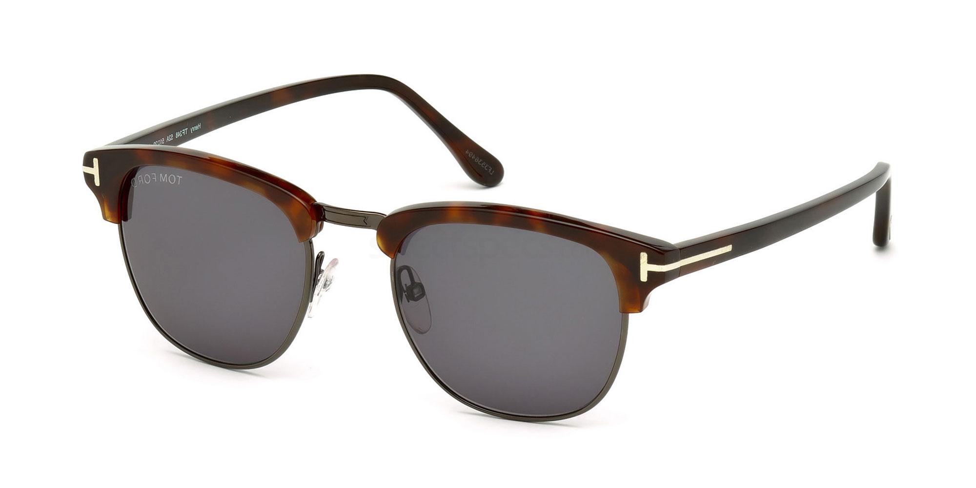 Tom Ford FT0248 Henry sunglasses at SelectSpecs