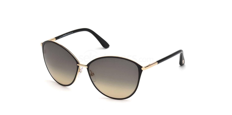 28B FT0320 Sunglasses, Tom Ford