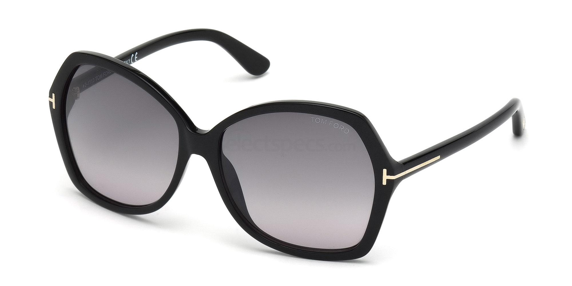 01B FT0328 CAROLA Sunglasses, Tom Ford