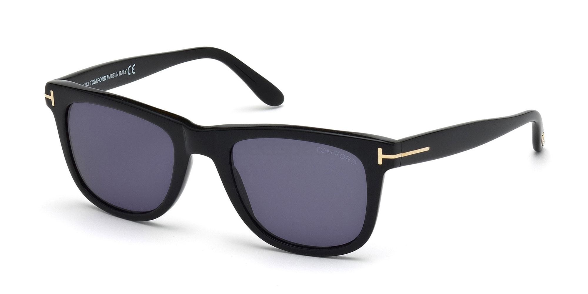 01V FT0336 LEO Sunglasses, Tom Ford