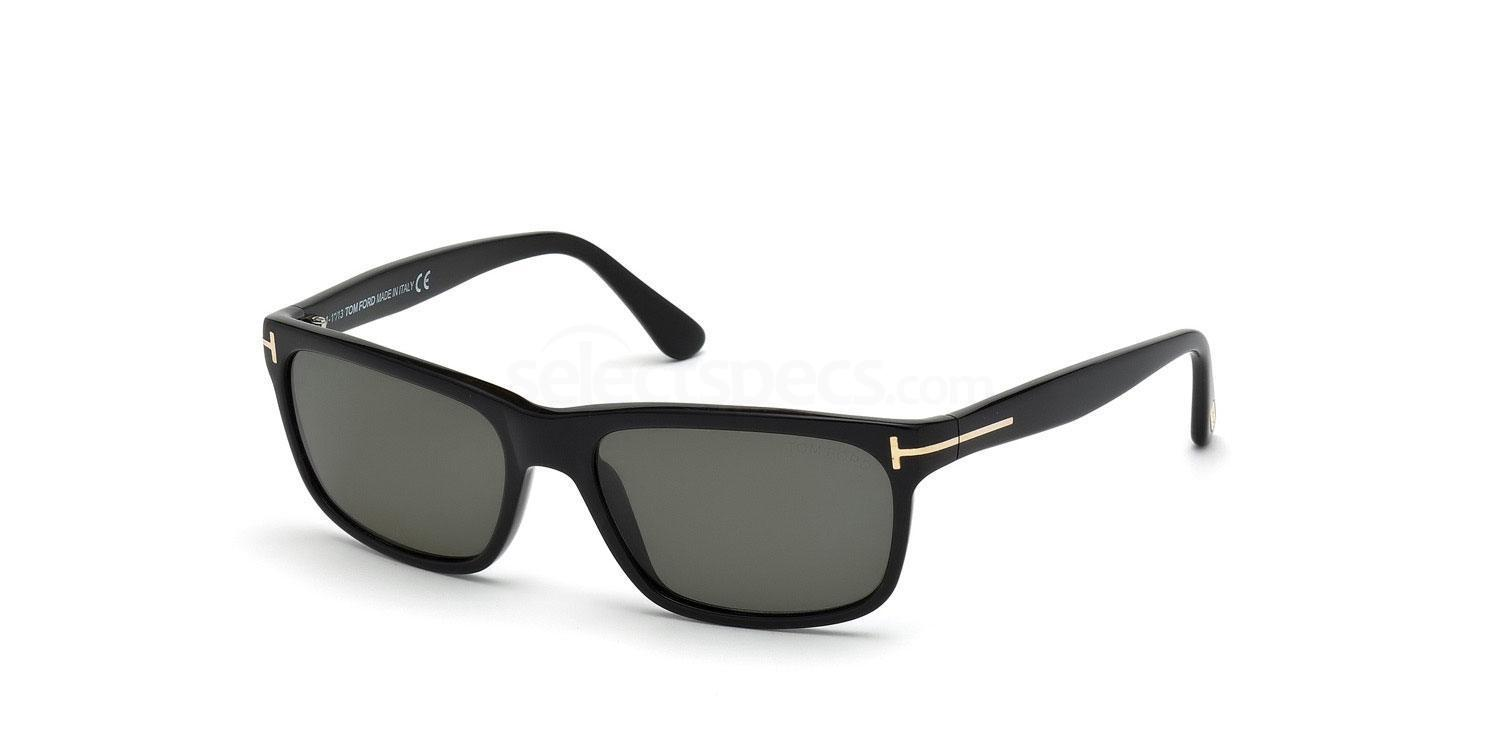 01N FT0337 Hugh Sunglasses, Tom Ford