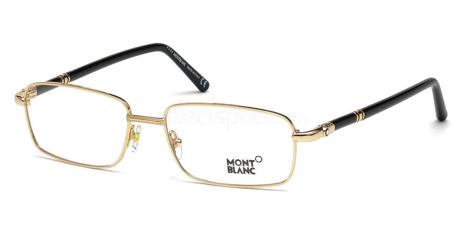 030 MB0475 Glasses, Mont Blanc